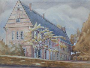 Lange Haus_Aquarell